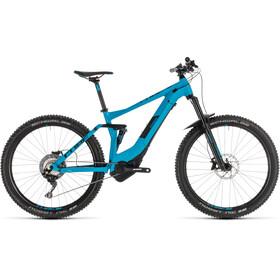 Cube Stereo Hybrid 140 Pro 500 Bicicletta elettrica Full Suspension blu